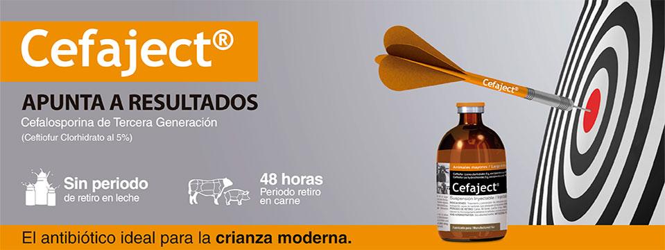 productos veterinarios, laboratorios veterinarios, medicamentos veterinarios, Antibiótico cefalosporínico de cero residuos en leche