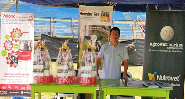 Agrovet Market participated in the Yauli Expo 2016 in Oroya