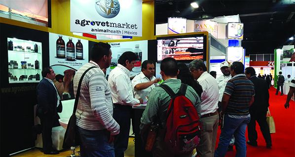 Agrovet Market Animal Health México present at the International Meat Congress 2016. México City, April.
