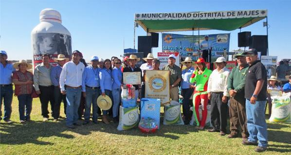 Agrovet Market Participated in awards to the best farmers in the irrigation Majes- Pedregal