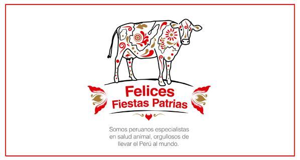 Felices Fiestas Patrias Perú 2016