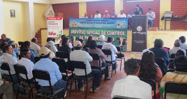 Agrovet Market rewards the best farmers of San Isidro - La Cano of Arequipa