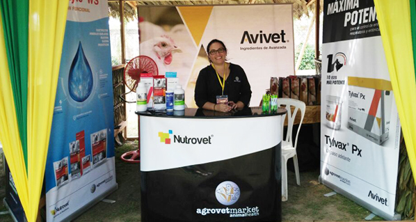 Avivet® and Nutrovet® were well received in Pucallpa Expoave V 2016