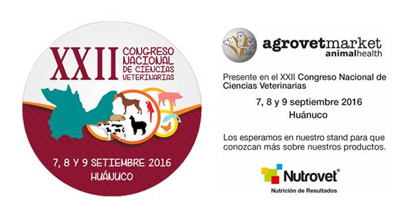 Agrovet Market Animal Health present as a sponsor at the XXII National Congress of Veterinary Sciences
