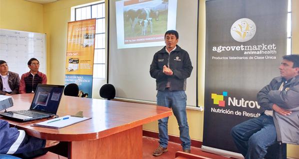 Agrovet Market trains farmers in Cerro de Pasco