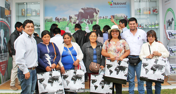 Agrovet Market Animal Health had a successful participation in the V National Dairy Cattle Fair of Holstein and Brown Swiss Race