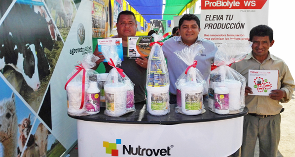 Agrovet Market present at the XII Regional Agriculture and Livestock Fair in Huacho