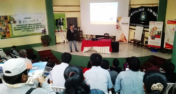 Successful participation of Avivet® and Nutrovet® in I Swine Production Congress in Cajamarca