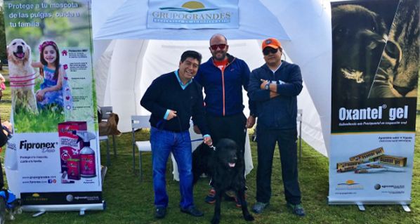 Fipronex® sponsor of the Animal Race in Quito