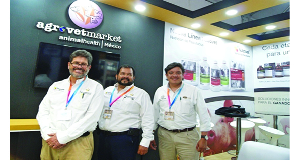 Agrovet Market Animal Health México present in AMVECAJ 2017