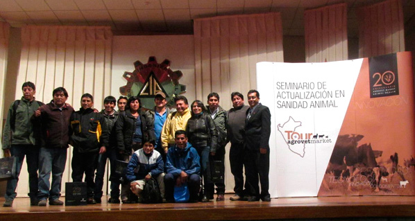 Categorical success of the 2014 Agrovet Market Tour in Cusco