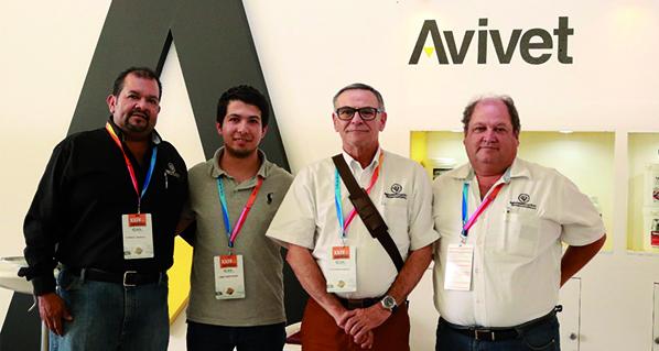 Nueva Línea Avivet promocionada durante AMVECAJ 2018