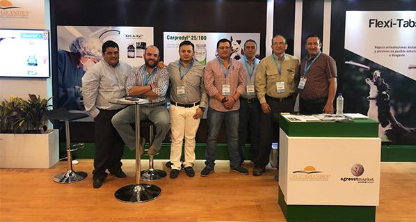 Agrovet Market y Grupo Grandes Román, juntos en el congreso de mascotas más importante de Ecuador