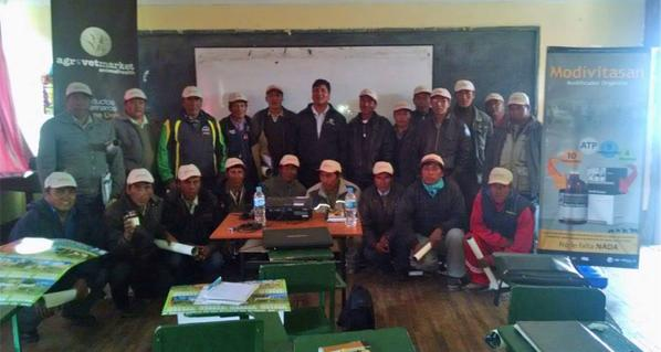 Agrovet Market Animal Health gave a technical talk in the Superior Technological Huacané Institute of the province of Puno