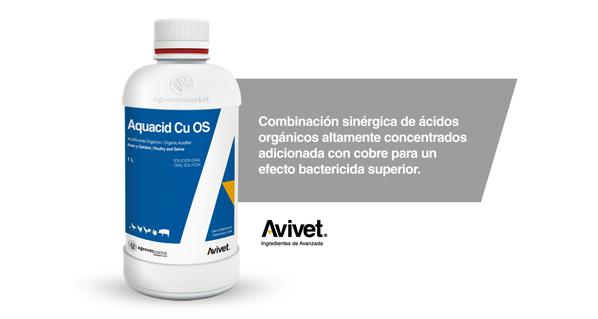 Nuevo Aquacid Cu OS para mejorar la calidad del agua