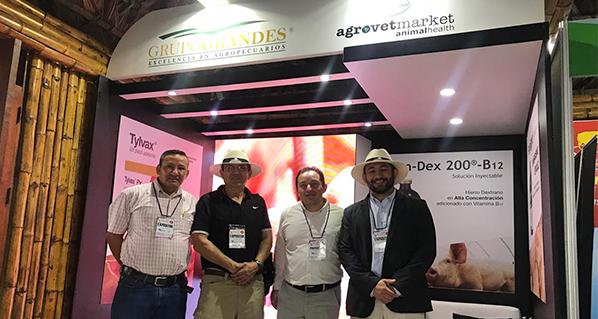 Agrovet Market presente Seminario Internacional porcino en Ecuador