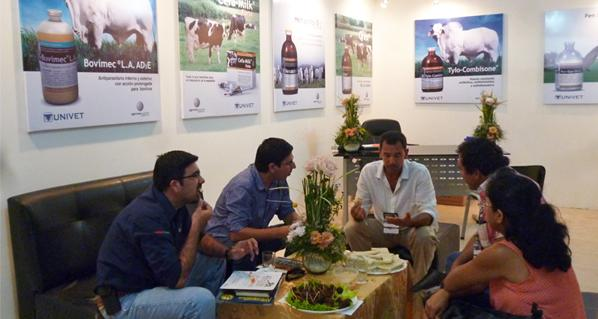Important participation of Univet and Agrovet Market Animal Health in Agropecruz - Bolivia