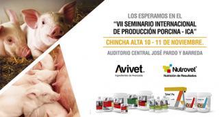 Avivet® y Nutrovet® los esperan en VII Seminario Internacional de Producción Porcina en Ica