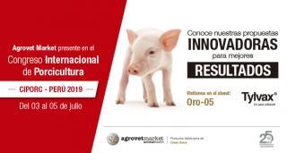 Agrovet Market estará presente en el CIPORC 2019