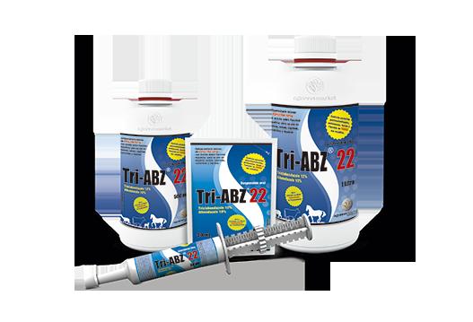Tri-ABZ® 22 wide spectrum antiparasitic combination