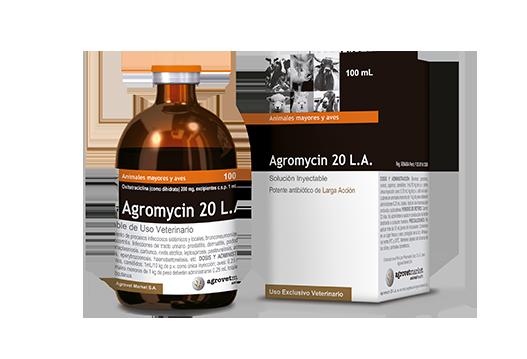 Agromycin® 20 L.A. potente antibiótico de larga acción