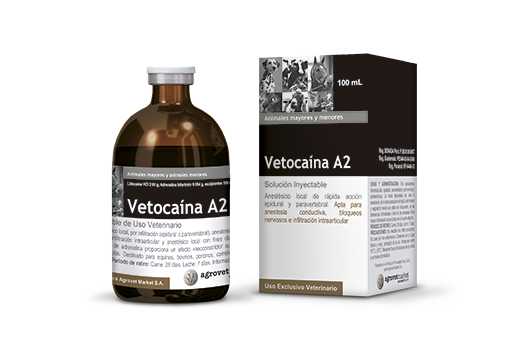 Vetocaína A2 anestésico local
