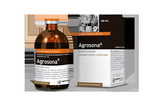 Agrosona® anti-inflamatory- antibiotic combination