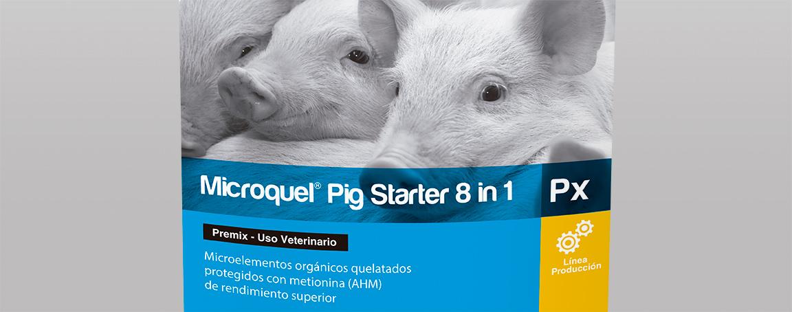 Microquel® Pig Starter 8 in 1 Px| Minerals| Methionine