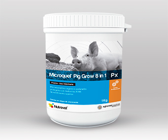 Microquel® Pig Grow 8 in 1 Px