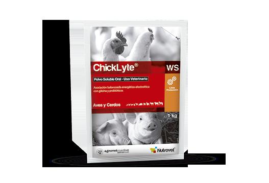ChickLyte® WS | HidroLyte® WS asociación balanceada energético-electrolítica con glicina y probióticos