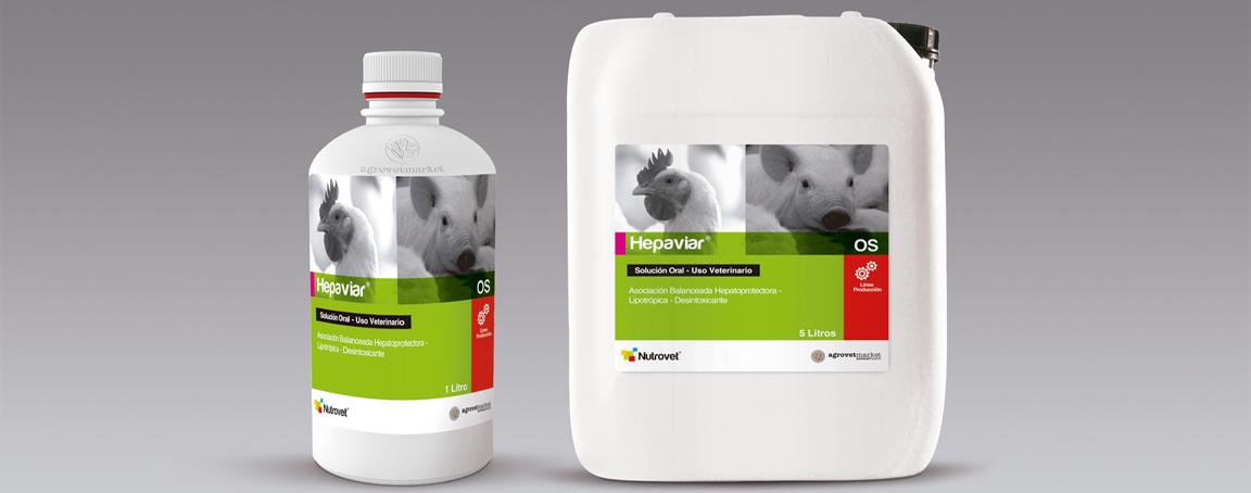 Hepaviar Os|Hepatoprotector|Aminoácidos|Minerales