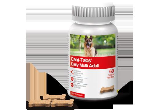 Cani-Tabs® Daily Multi Adult suplemento vitamínico para perros adultos