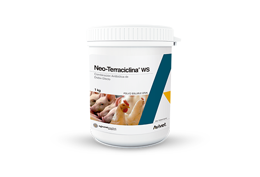 Neo-Terraciclina® WS broad-spectrum and double effect antibiotic combination