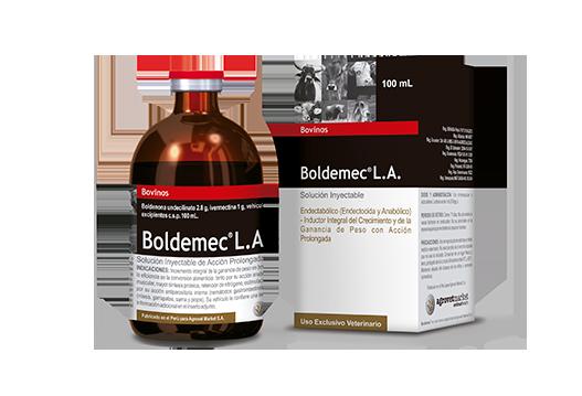 Boldemec® L.A. endectabólico (endectocida y anabólico) de acción prolongada