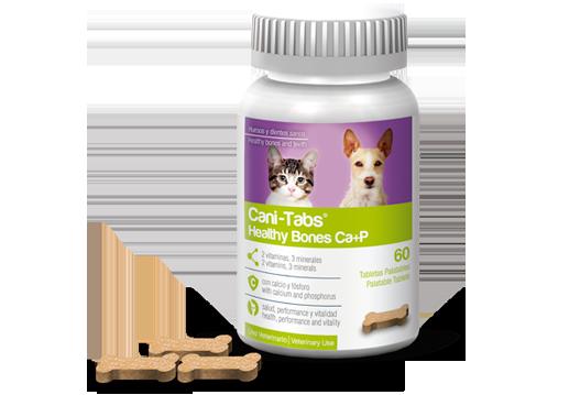 Cani-Tabs® Healthy Bones Ca+P huesos y dientes sanos