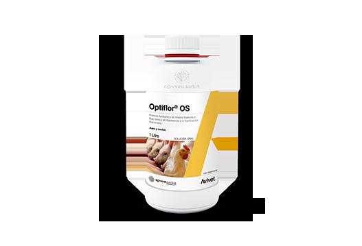 Optiflor® OS potente antibiótico de amplio espectro y bajo índice de resistencia a la inactivación bacteriana