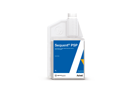 Sequent® PSP insecticide of natural origin of single action and prolonged effect.