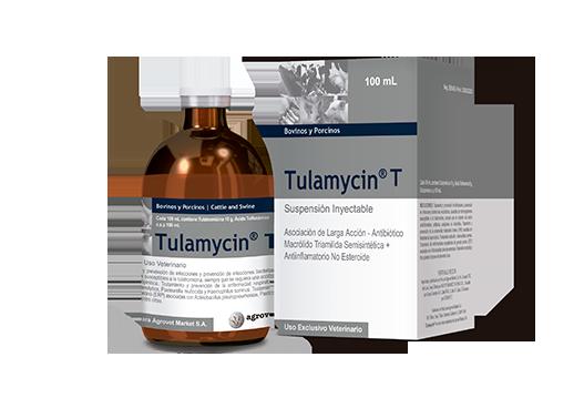 Tulamycin® T asociación de larga acción - antibiótico macrólido triamilida semisintética + antiinflamatorio no esteroide