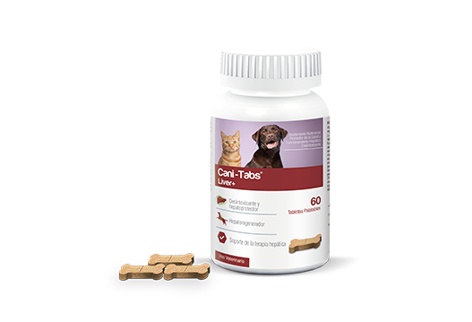 Cani-Tabs® Liver+ nutritional supplement promoter of health and liver functioning - detoxifier