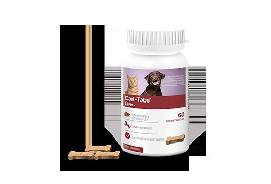 Cani-Tabs® Liver+ promotor de la salud y funcionamiento hepático - desintoxicante