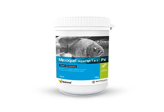 Microquel® Aqua Fish 7 in 1 Px organic microelements chelated and protected with methionine for fish