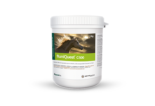 FluniQuest® C500 anti-inflammatory, antipyretic, antitoxic and non-steroidal analgesic. specific for visceral and musculoskeletal pain