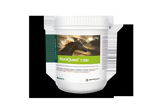 FluniQuest® C500 antinflamatorio, antipirético, antitóxico y analgésico no esteroide. específico para el dolor visceral y músculoesquelético