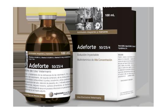 Adeforte® 50/25/4 oily vitamin association - preventive and therapeutic