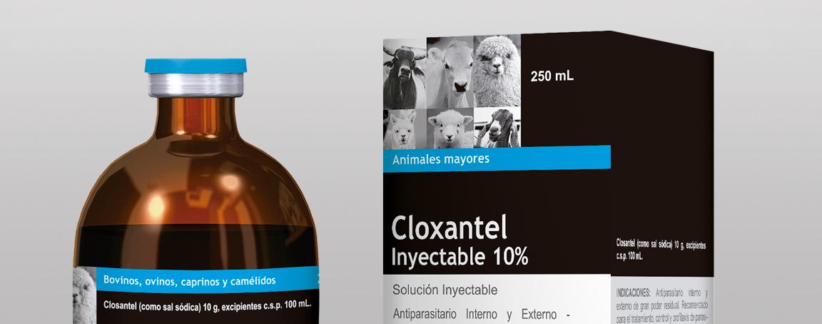 Cloxantel Inyectable 10%