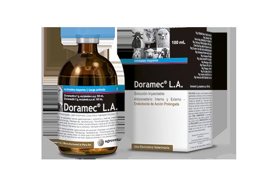 Evaluación de la efectividad y residualidad de una doramectina comercial (Doramec® L.A.) en el control de parásitos gastrointestinales en alpacas naturalmente infectadas en la Sierra Central del Perú