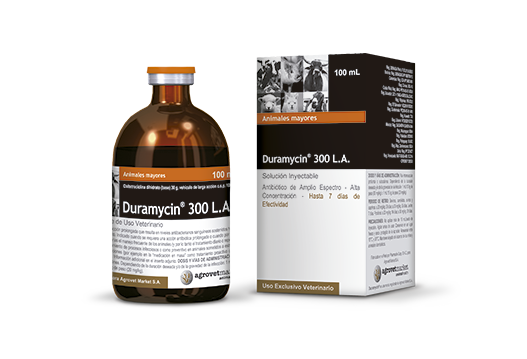 Duramycin® 300 L.A. sustained long-acting antibiotic