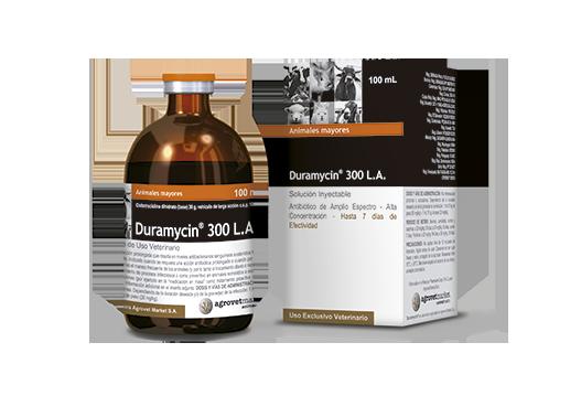 Efectividad y Tolerancia del Antibiótico Inyectable Oxitetraciclina al 30% (Duramycin® 300 L.A.) en el tratamiento de neumonías bacterianas de Bovinos de Engorde en crianza intensiva