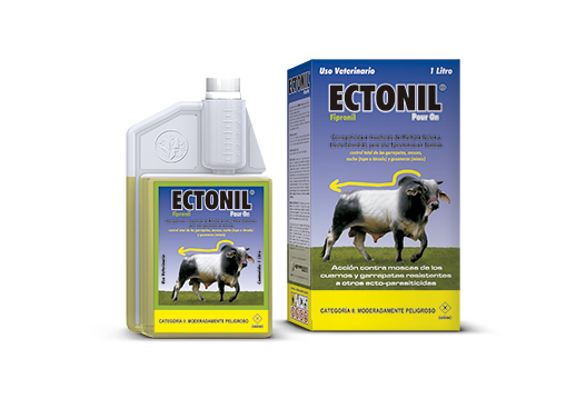 Ectonil® Pour On tick killer and insecticide of multiple action and extended effect