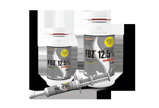 FBZ® 12.5% con minerales antiparasitario interno de amplio espectro con minerales